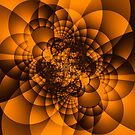 Orange Fractal by Deastrumquodvic