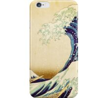Detail from The Great Wave off Kanagawa Japanese Print iPhone Case/Skin