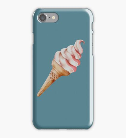 Soft Serve Ice-cream iPhone Case/Skin