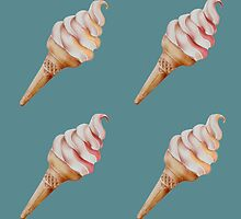 Soft Serve Ice-cream by Sarah  Mac