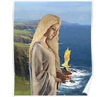 Saint Brigid - Flame of Faith Poster