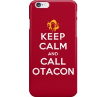 Keep Calm and Call Otacon iPhone Case/Skin