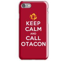 Keep Calm and Call Otacon iPhone Case/Skin