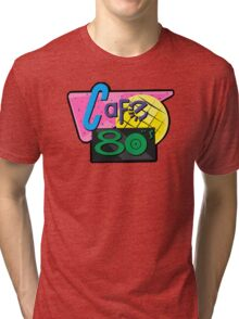NOW IS THE FUTURE - Cafe 80's 2015 Tri-blend T-Shirt