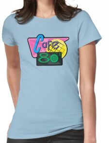 NOW IS THE FUTURE - Cafe 80's 2015 Womens Fitted T-Shirt