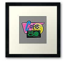 NOW IS THE FUTURE - Cafe 80's 2015 Framed Print