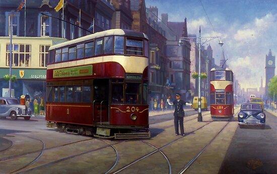 Edinburgh tram. by Mike Jeffries