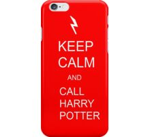 Keep Calm and call Harry Potter iPhone Case/Skin
