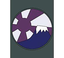 Yamagata's T-shirt Logo (Akira) Photographic Print