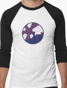 Yamagata's T-shirt Logo (Akira) Men's Baseball ¾ T-Shirt