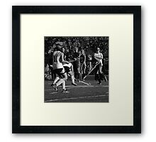 100511 210 0 pencil field hockey Framed Print