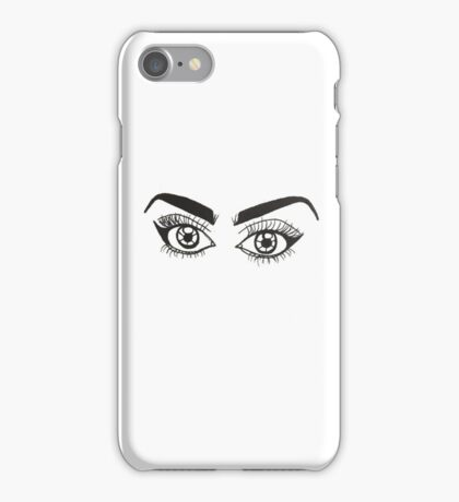 Lashed Out iPhone Case/Skin