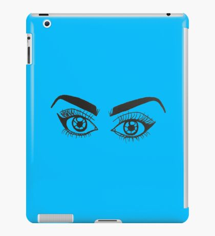 Lashed Out iPad Case/Skin
