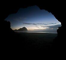 Sea Cave, O'Neills Beach by Michael Treloar