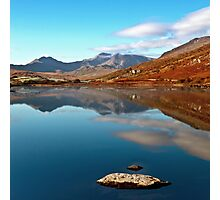 Snowdon from Llynnau Mymbyr Photographic Print