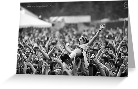 Summer Surfer - Bonnaroo Music Festival, Tennessee by mikenyff
