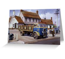 Reffells' ERF at the Woodman. Greeting Card