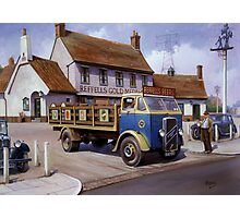 Reffells' ERF at the Woodman. Photographic Print
