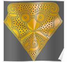 Mask - Mammen 10th Century Poster