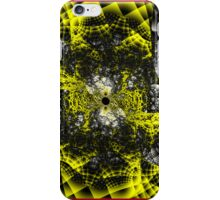 Yellow Fractal iPhone Case/Skin