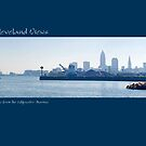 View of Cleveland from the Edgewater Marina by Bob  Perkoski