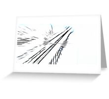 Towards the sky Greeting Card