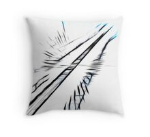 Towards the sky Throw Pillow