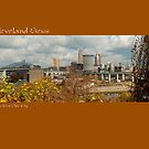 View of Cleveland from Ohio City by Bob  Perkoski