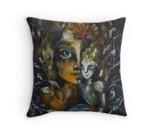 """""""My doll"""" Throw Pillow"""