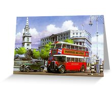 London Transport STL Greeting Card