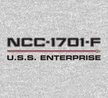 ST Registry Series - Enterprise-F Logo by Christopher Bunye
