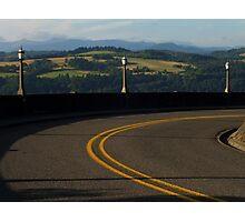Scenic Road Photographic Print