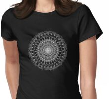 Mandala Womens Fitted T-Shirt