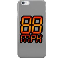 NOW IS THE FUTURE - 88 mph iPhone Case/Skin