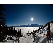 Freeskiing Photographic Print