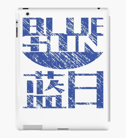 Blue Sun Corporation Logo (Firefly/Serenity, Large) iPad Case/Skin