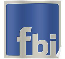 facebook is... Poster