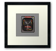 NOW IS THE FUTURE - Flux 2015 Framed Print