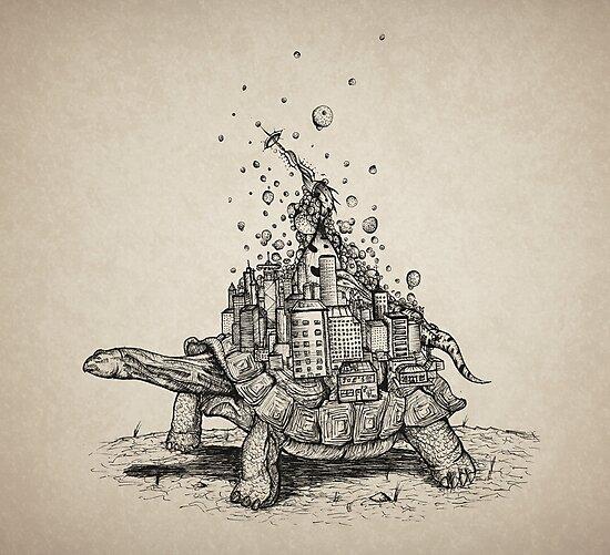 Tortoise Town by Brandon  Dover