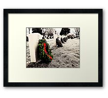 Come home for Christmas Framed Print