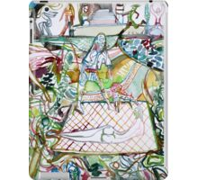 WELCOME TO THE GARDEN iPad Case/Skin