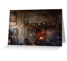 Chef - Kitchen - Home for the holidays  Greeting Card