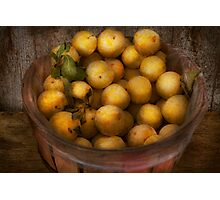 Food - Apples - Golden apples Photographic Print