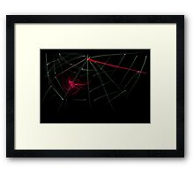 this is titled 'blood web' Framed Print
