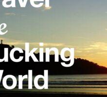 Pura Vida - Travel the world Sticker