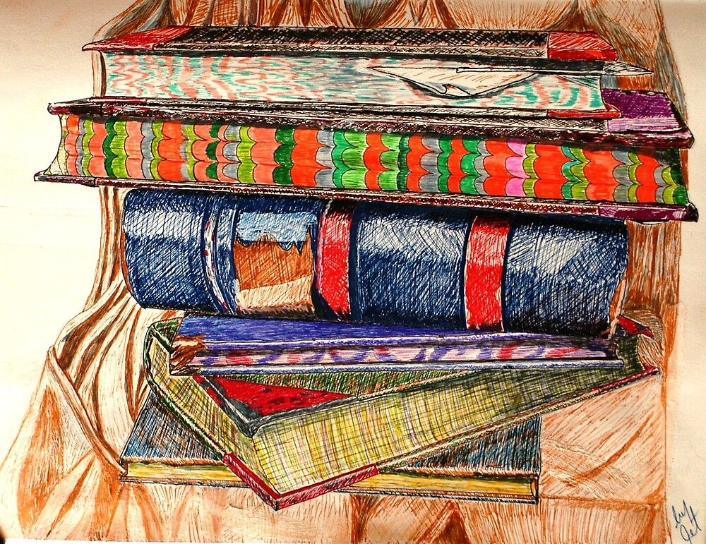Book Stack by Judith Livingston