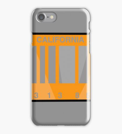 NOW IS THE FUTURE - California Plate 2015 iPhone Case/Skin