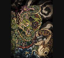 Japanese dragon and koi fish  Unisex T-Shirt