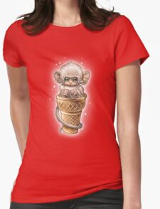 SOFT SERVE Womens Fitted T-Shirt
