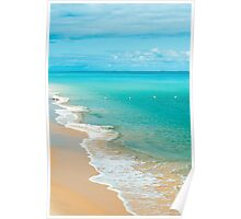 View from Tangalooma Island beach. Poster